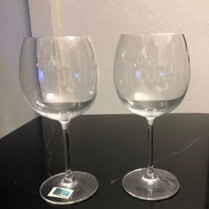 Waterford balloon wine glasses